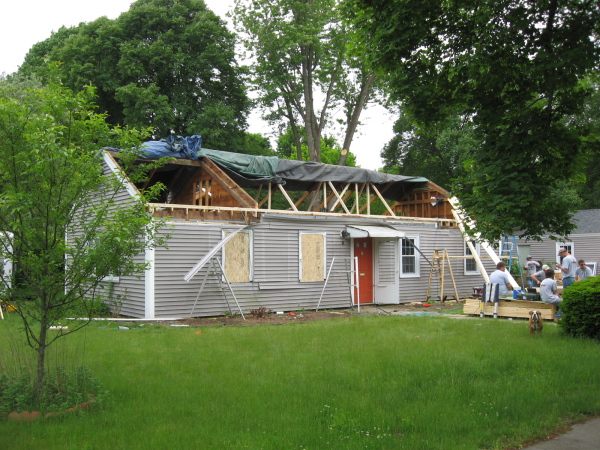 Adding a second story to your home for Framing a second floor addition