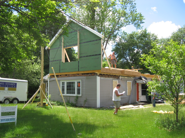 Testimonials blog by two storey building custom home builder for Framing a second floor addition